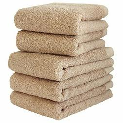 hiorie Made in Japan Hotel style towel face towel 5 pieces s