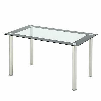 5 Glass Top 4 Leather for Kitchen