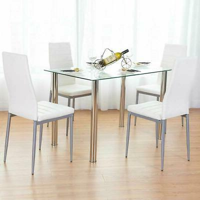 5 Piece Table Set Chairs Room Furniture